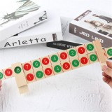 Wooden Digital Decomposition Ruler Montessori Mathematics Math Toys Early Education Learning Puzzle Toys for Childrens