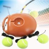 Singles Tennis Trainer Rebound Balls Self-study Training Sport Fitness with 3 Balls