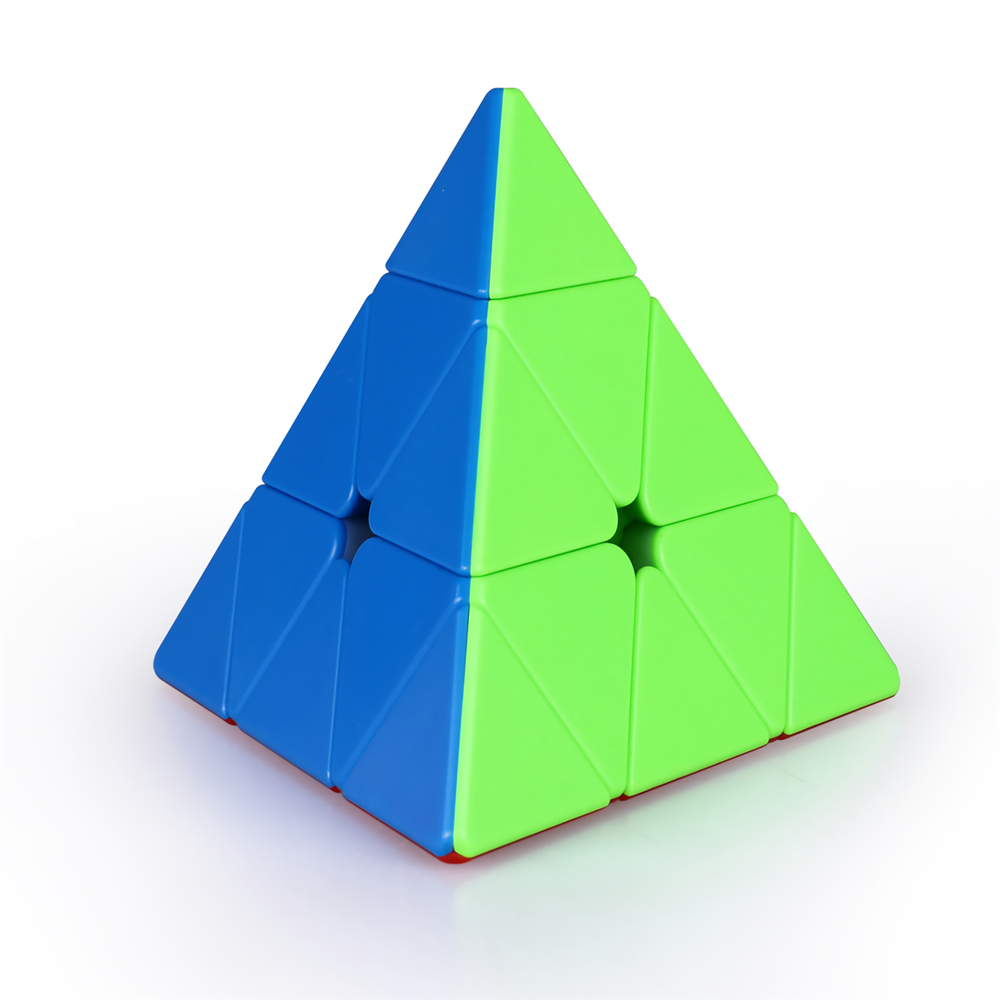 Qiyi Magnetic Series 3x3 Pyramid Magic Cube Professional Magic Cube Twisty Speed Puzzle Educational Toys Supplies
