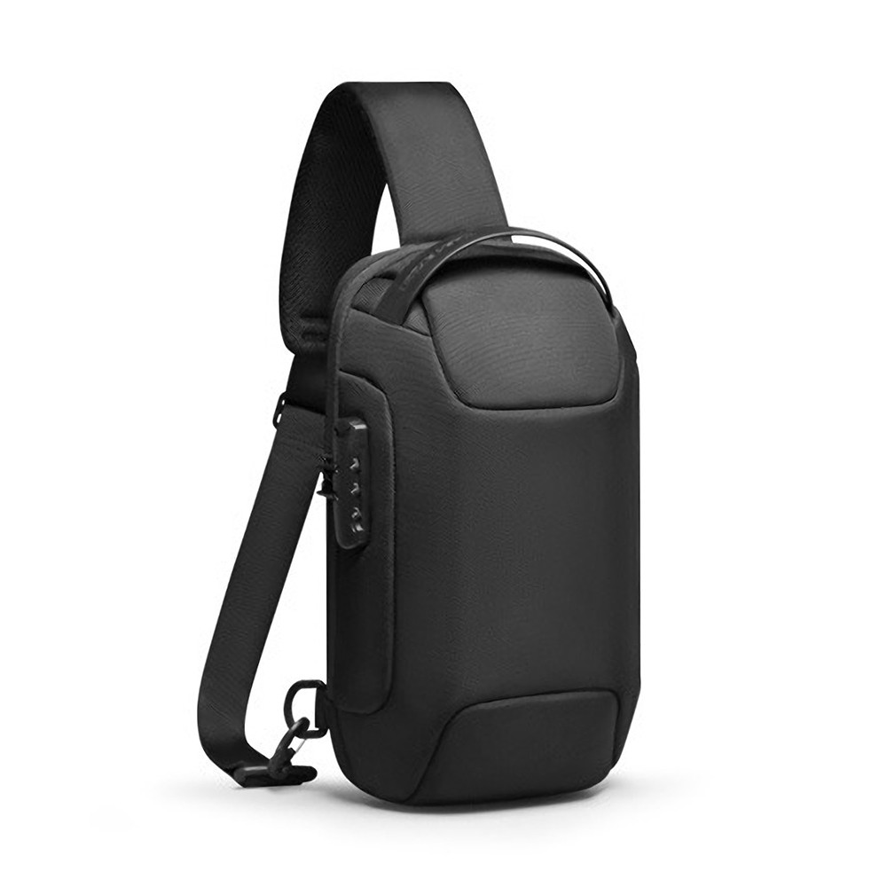 Mark Ryden MR7116 Anti-theft Chest Bag Crossbody Bag Business Bag USB Charging Men Handbag Travel Storage Bag