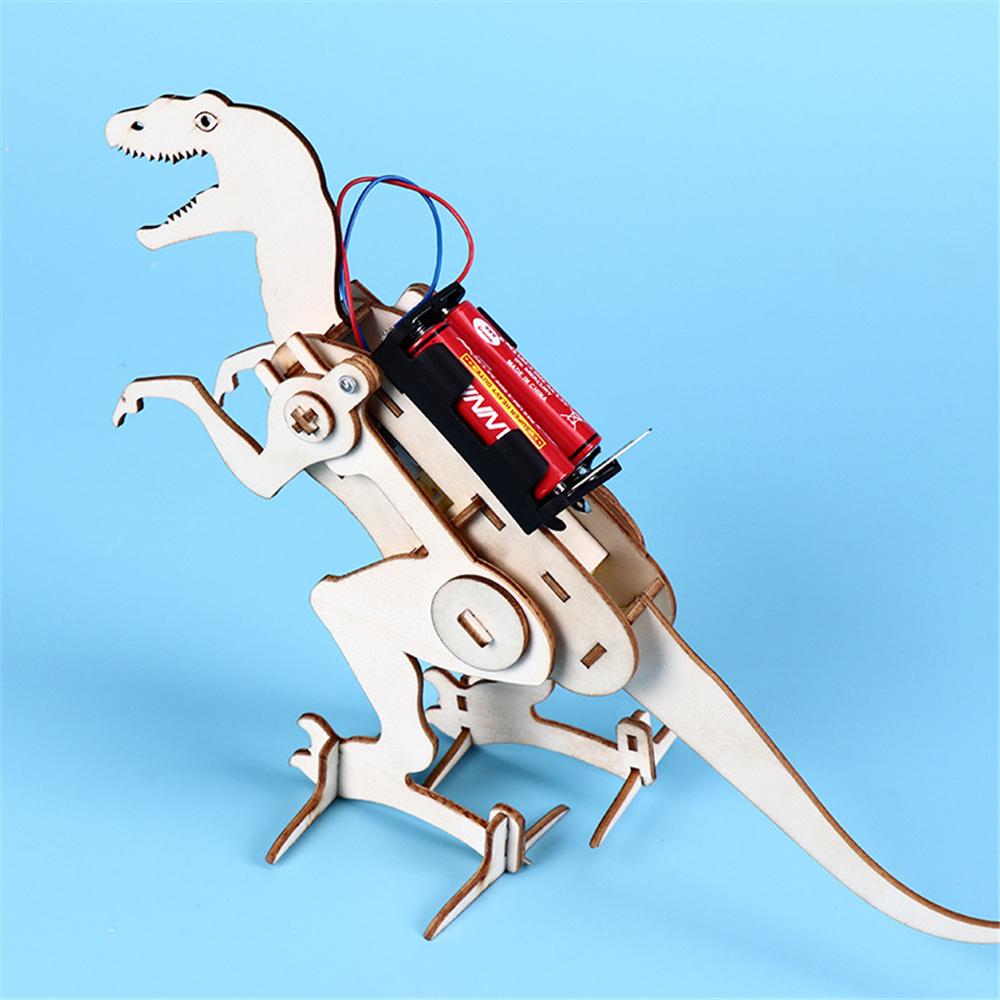 DIY Children Self Installed Dinosaur Electric Dinosaur Model Science Education Stem Science Kit For Children and Student