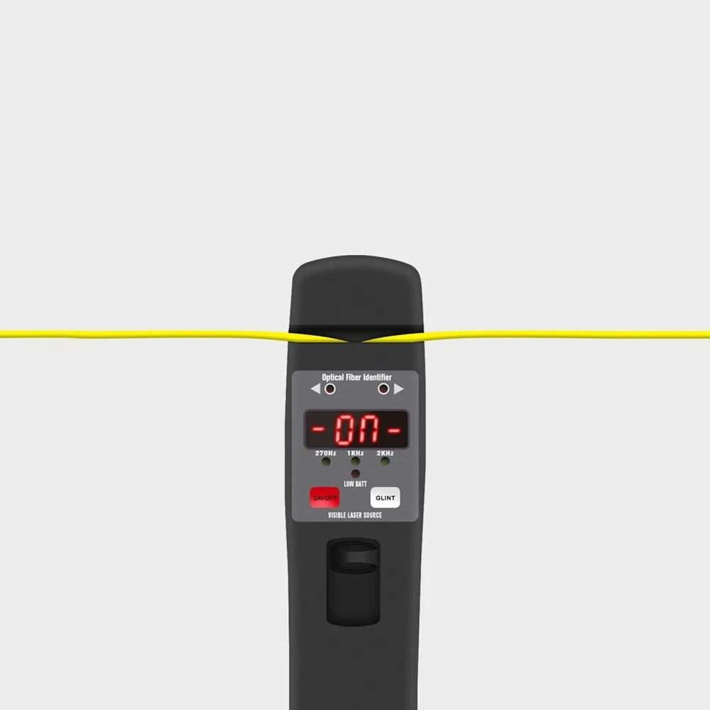Optic Fiber Identifier Live Fiber Optical Identifier 800nm-1700nm Fiber Cable Visual Fault Locator