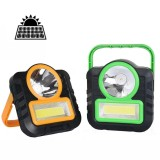 XANES LED COB Solar Lamp Camping Light USB Portable Work Light Flashlight Lantern Emergency Outdoor Tent Light