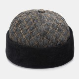 Unisex Cotton Hip-hop Style Casual Daily Street Trend Couple Hat Brimless Beanie Landlord Hat Skull Hat