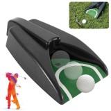 KALOAD Golf Ball Return Exerciser Golf Putting Cup Golf Ball Kick Back Return Training Machine Outdoor Indoor Sport