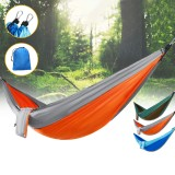 IPRee Double Person Hammock Nylon Swing Hanging Bed Outdoor Camping Travel Max Load 300kg