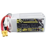 CODDAR 18.5V 650mAh 5S 90C XT30 Plug High Discharge Lipo Battery for RC Drone