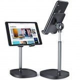 DIVI Universal Telescopic Liftable Desktop Mobile Phone Tablet Holder Stand for iPad Air for iPhone 12 XS 11 Pro POCO X3 NFC Xiaomi Mi10
