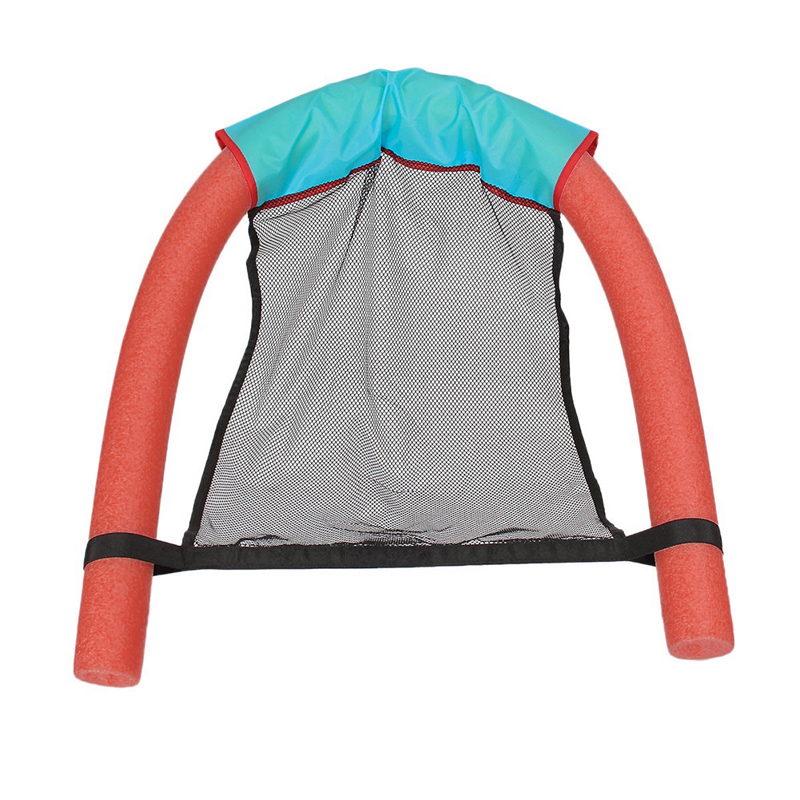 Floating Pool Chair Swimming Pool Mesh Seats Hammock Float Seat Water Lounge Chairs Travel Water Swimming