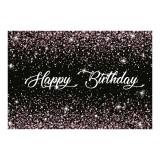 Happy Birthday Photography Backdrop Shiny Golden Dots Party Photo Background Cloth Decoration Props
