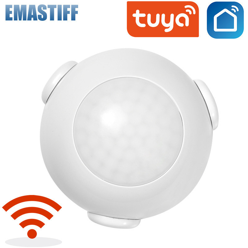EMASTIFF Z-Bee Intelligent Infrared Detector Wifi Wireless Motion Sensor Intelligent linkage Infrared Work with Tuya Amazon Google Home IFTTT