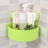 Triangular Bathroom Shelf Wall Hanging Bathroom Suction Cup Corner Rack Shelf Storage Rack