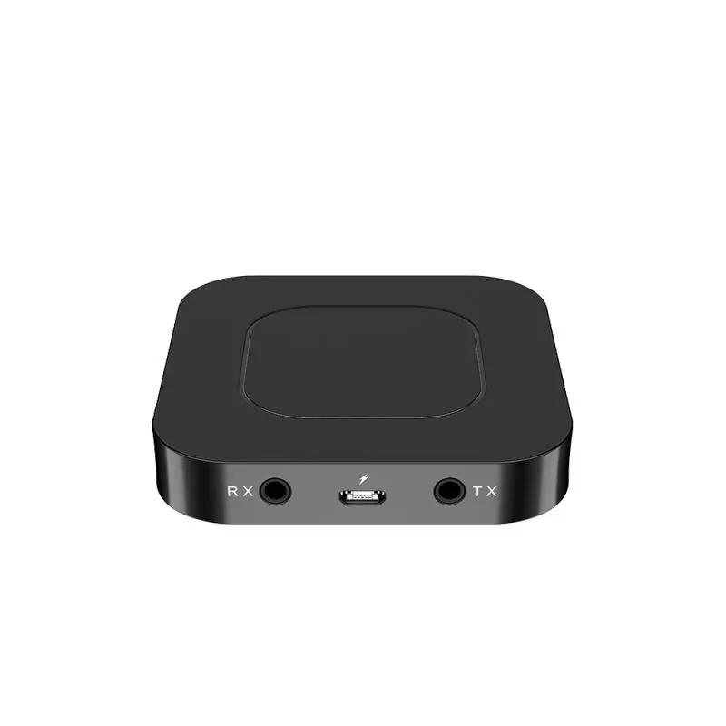 Grwibeou BT-13 2 In 1 Bluetooth 5.0 Transmitter Receiver 3.5mm Audio Adapter Compatible With PC Laptop Smartphone MP3 Player