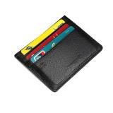 TIGERNU RFID Card Holder Anti-theft Blocking Sleeve Shield Protector Wallet PU Minimalist Male Card Wallet for Debit Credit Cards ID Key Cards