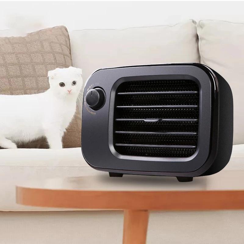 Bakeey 500W Electric Heater Fan Mini Winter Hand Warmer PTC Ceramic Quick Heating Warm Stove Radiator Smart Warmer Hot Air Blower
