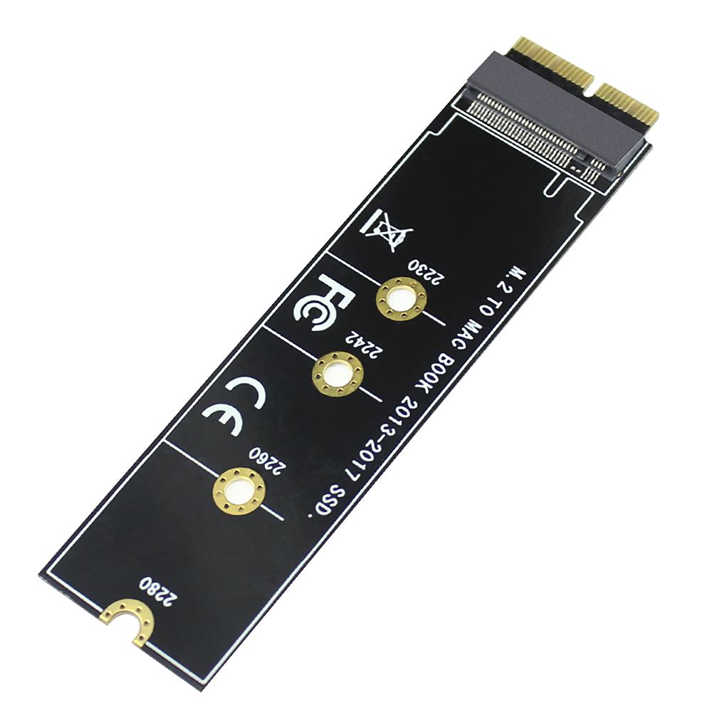 XT-XINTE M.2 NVME SSD Convert Adapter Card Laptop Convert Adapter for MacBook 2013-2017 F28087