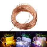 20M 200LED 2 Modes / 8 Modes Solar String Lights Waterproof Copper Wire Strip Fairy Garden Decor Christmas Decorations Clearance Christmas Lights