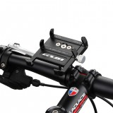 GUB Pro7 Universal Outdoor Vlog Recording Aluminum Alloy MTB Motorcycle Road Bike Bicycle Handlebar GPS Mobile Phone Holder Stand with with Silicone Band for 55-100mm Width Devices