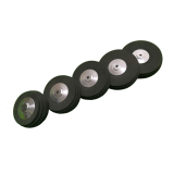 50mm/58mm/63mm/70mm/76mm EVA Rubber Simulation Tire Wheel Aluminum Hub For RC Airplane Fixed-wing RC Racer Drone
