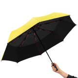 Automatic Business Umbrella Three Folding Male Female Parasol Umbrella Rain Windproof Luxury Umbrella for Man Women Gift