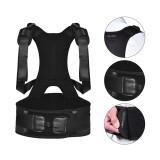 BOODUN Posture Corrector Adjustable Shoulder Back Waist Support Lumbar Brace Belt Body Posture Corrector Therapy Wrap