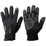 HUMRAD Touch Screen Windbreak Skiing Gloves MTB Road Bike Warm Up Gloves Mountain Bike Bicycle Waterproof Gloves