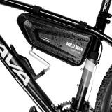 WILD MAN Triangular Bike Bag 1.5L Large Space Rainproof For Mountain Electric Bikes Road Bikes