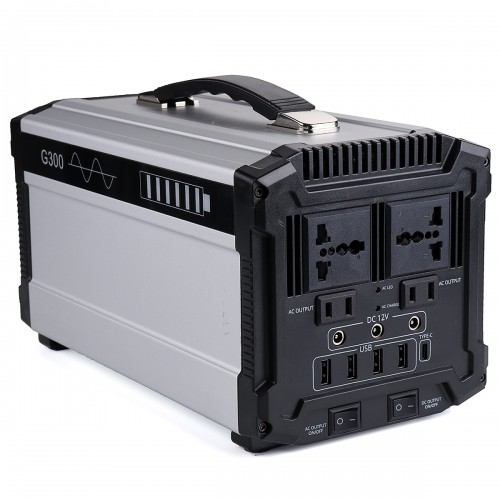 300W 80000mAh Power Station Back Up Power Supply Portable Solar Power Panel Generator Inverter Supply Energy For Home Outdoor Camping Travel