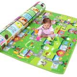 1.2/1.5/2×1.8m Waterproof Non-slip Baby Kids Floor Play Mat Children Game Blanket Crawling Carpet Cushion Pad