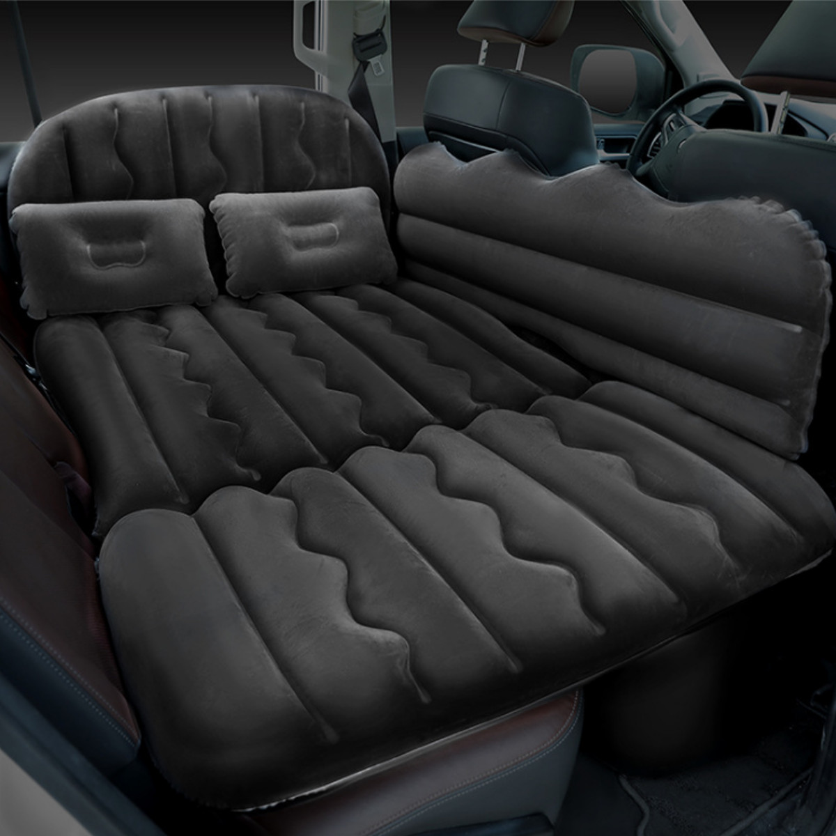 66.93x29.53inch Car Air Bed Inflatable Mattress Travel Sleeping Camping Cushion Back Seat Pads