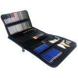 72pcs/set Drawing Sketching Set Sketching Drawing Pencil Kit Art Painting Tool For Beginner Skrtching Drawing Stationery Supplies