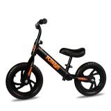 12inch Kid Balance Bike Adjustable Height No-Pedal Childrens Balance Bike Beginner Rider Training Push Bike for 2-6 Years Old Christmas Gift