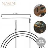 NAOMI 10 pcs Sensitive Saddle Bridge Soft Piezo Cable Pickup For Acoustic Guitar /Classical Guitar Replacement