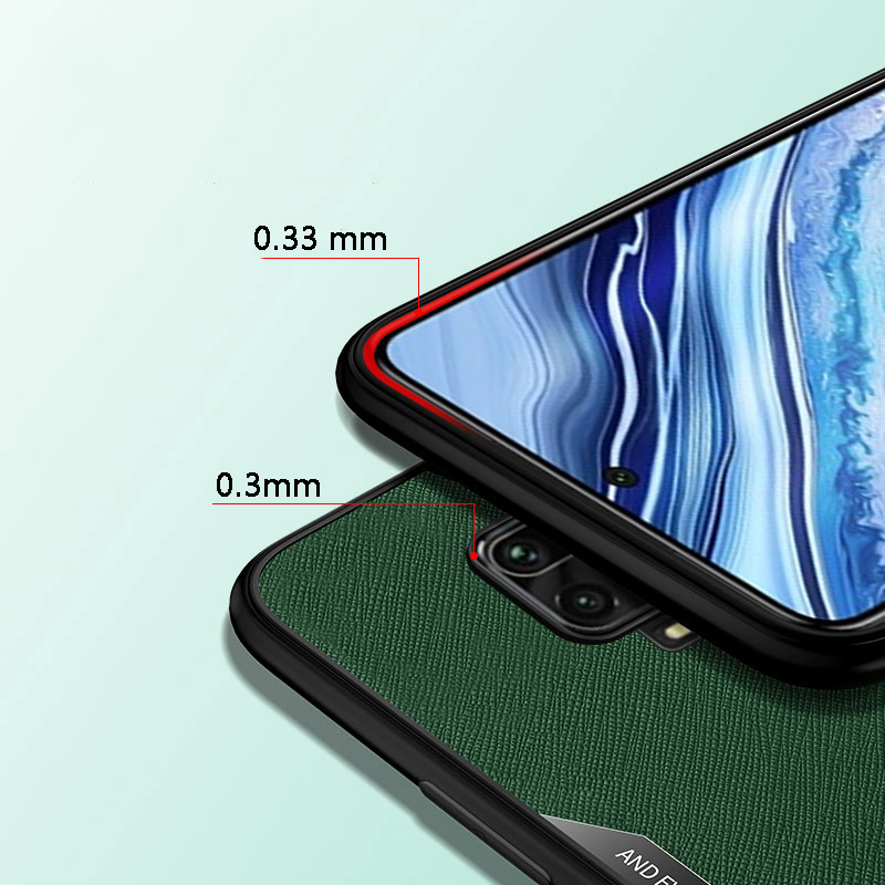 Bakeey Anti-Fingerprint Anti-Slip Magnetic Adsorption with Finger Ring Holder Stand TPU Protective Case for Xiaomi Redmi Note 9S / Redmi Note 9 Pro / Redmi Note 9 Pro Max