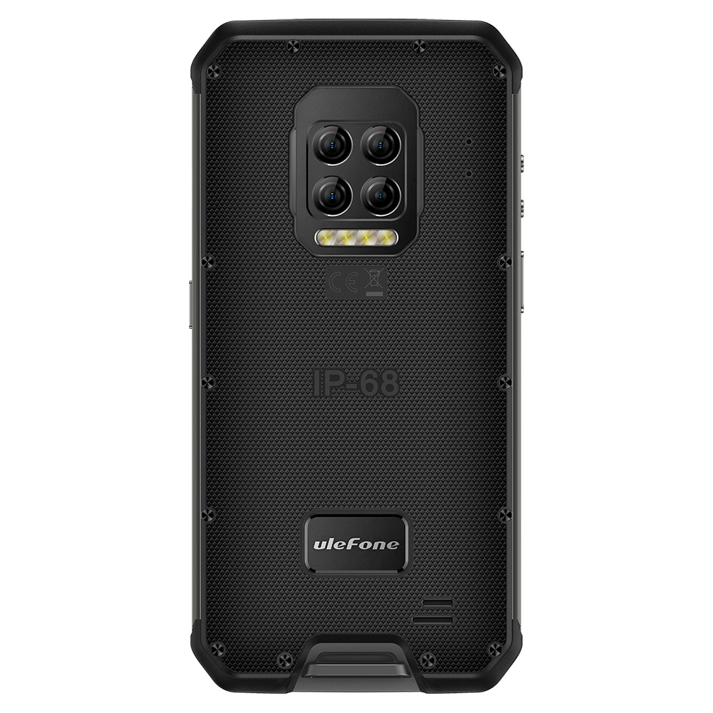 Ulefone Armor 9E IP68 IP69K Waterproof 6.3 inch 8GB 128GB 64MP Quad Camera NFC 6600mAh Helio P90 Octa Core 4G Rugged Smartphone
