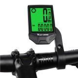 WEST BIKING 2.36″ Large Screen Wireless Bicycle Computer Bike Rainproof Speedometer Odometer Stopwatch for MTB Road Bike