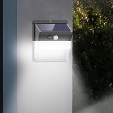 ARILUX 136LED Solar Light Motion Sensor Four-sided Lighting IP65 Waterproof 3 Lighting Modes lamp Gates Courtyard Park Garden Wall lamp