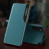 Bakeey for Samsung Galaxy S20 / Galaxy S20 5G Case Magnetic Flip Smart Sleep Window View Shockproof PU Leather Full Cover Protective Case