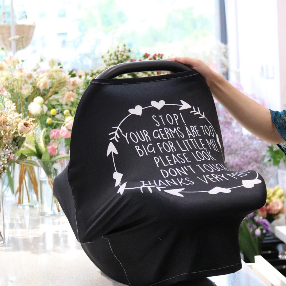 Nursing Cover For Newborn Breastfeeding Car Seat Baby Infant Stroller Canopy