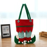 Child Adult Festive Creative Christmas Candy Bottle Liquor Gift Bag Elf Shape Handbag