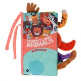 Children's Animal Toy Book Tail Soft Coth Book Puzzle Toy Book Kids Baby Gift Early Education Toys