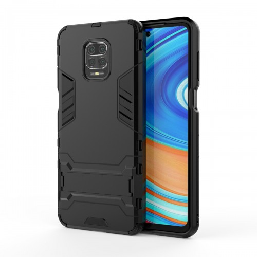 Bakeey for Xiaomi Redmi Note 9S / Xiaomi Redmi Note 9 Pro / Xiaomi Redmi Note 9 Pro Max Case Armor Shockproof with Stand Holder Back Cover Protective Case|