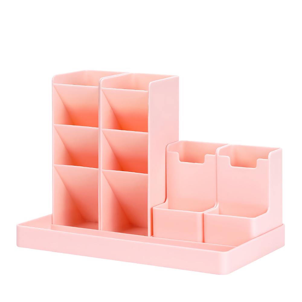 DIY Pen Holder Office School Storage Case Box for Office School Supplies Markers Gel Pens Storage Holder Racks