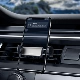 Baseus Mini Car Phone Holder Non Slip 360 Rotation for Mobile Phone In Air Vent Car Phone Holder