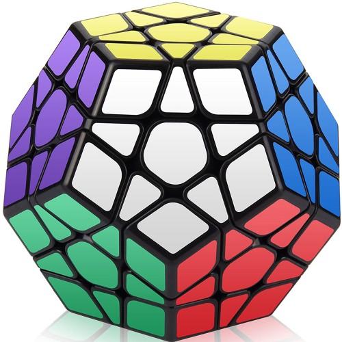 Qiyi Five Magic Cube Professional Level 3 Five Magic Cube 12 Face Slow Down Decompression Magic Cube Puzzle Education
