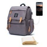 Multifunctional Outdoor Travel Backpack With USB Port Large Capacity Waterproof Shoulder Bag For Outdoor Camping Hiking Men Women