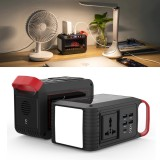 IPRee 2-in-1 24000mAh 80W 120W Power Bank Home Emergency Generator Camping Light Power Source Outdoor Travel Cycling