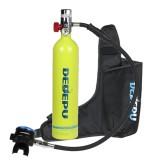 DEDEPU S5000+ Mini Scuba Diving Tank Set 1L Diving Tank With Storage Bag Underwater Sport Mini Scuba Tank Accessories
