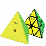 Qiyi Magnetic Series 3×3 Pyramid Magic Cube Professional Magic Cube Twisty Speed Puzzle Educational Toys Supplies