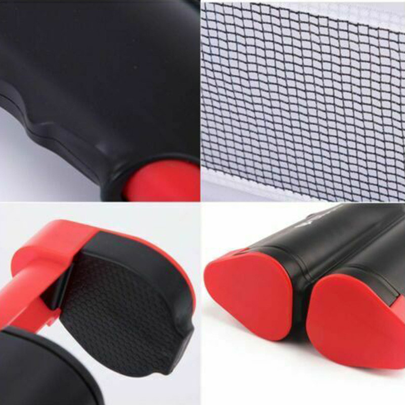 1.7M Retractable Ping Pong Net Set For Any Table 2 Table Tennis Paddles Home Indoor Training Outdoor Game Table Portable Table Tennis Set